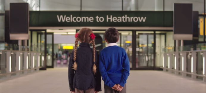 comunicazione aeroporto heathrow