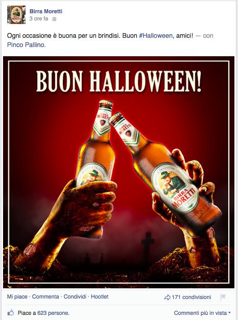 Birra Moretti - Halloween