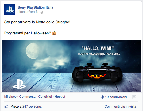 PlayStation Sony -  Halloween