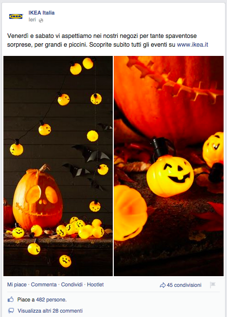 Ikea - Halloween