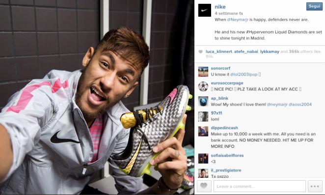 Nike, Instagram. Best Practice