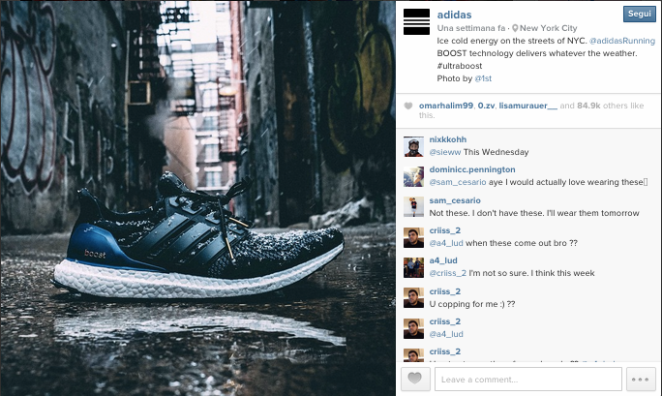 Adidas, Instagram. Best Practice
