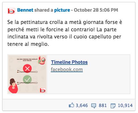 Post Bennet Facebook Tips