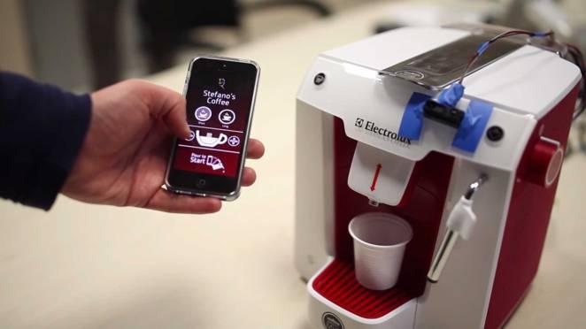 macchina caffè intelligente