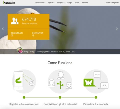 iNaturalist-homepage